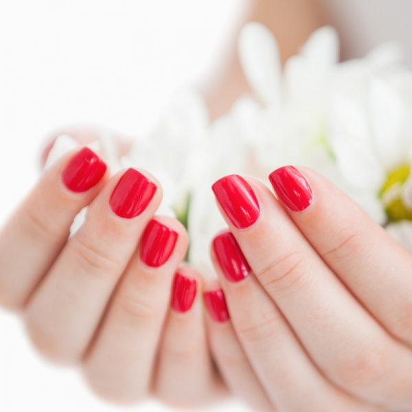 nails-red-shellac-manicure-polish